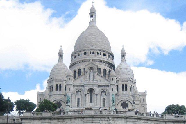 Basilica del Sagrado Corazon Sacre Coeur en Paris