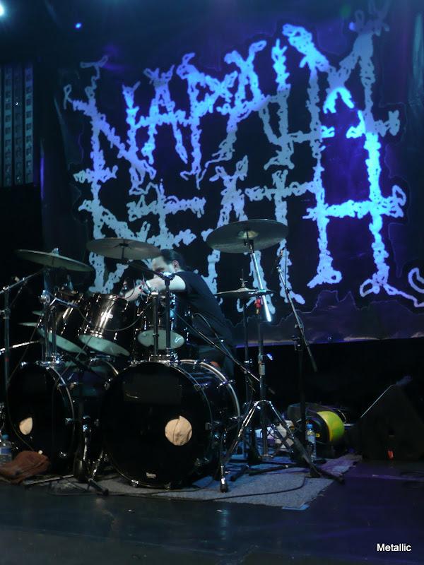 Napalm Death @ Le Forum, Vauréal 11/11/2010