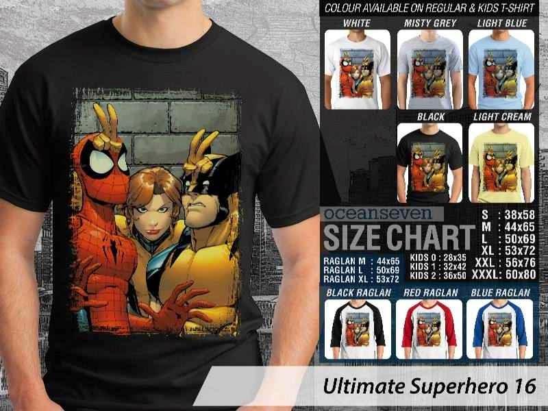 KAOS spiderman wolverine 16 Ultimate Superhero distro ocean seven