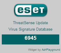 AzhPlayground - ESET widget