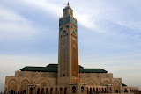 The Massive Hassan II Mosque - Casablanca, Morocco