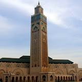 The Massive Hassan II Mosque - Casablanca, Morocco