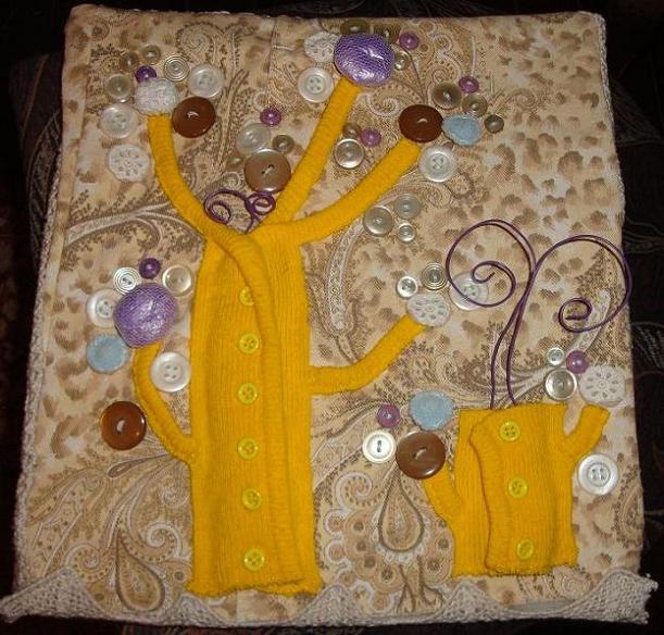 Поделки из ниток и ткани