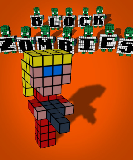 Block Zombies Box Art