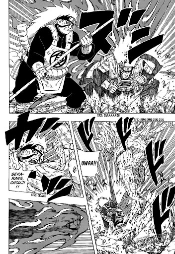 Manga Naruto 537 page 3