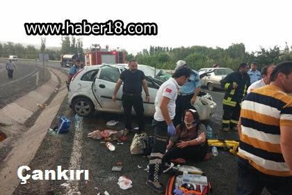 Ayan köyünde trafik kazasında 4 kişi yaralandı.