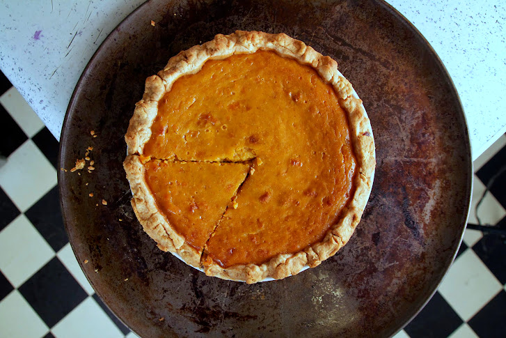 Butternut Squash Honey Pie