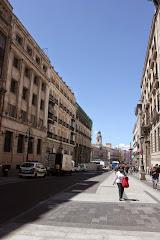 Ascendiendo por la Calle Alcalá