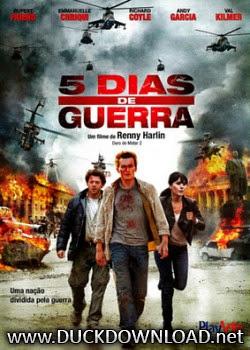 Baixar Filme 5 Dias de Guerra DVDRip Dual Áudio