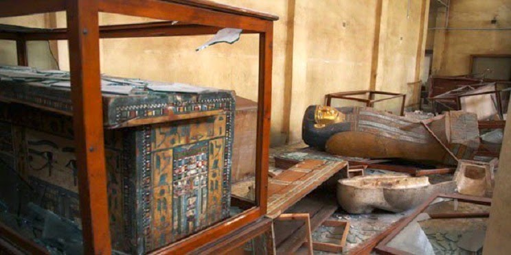 Egypt sues Israel over 126 smuggled artefacts
