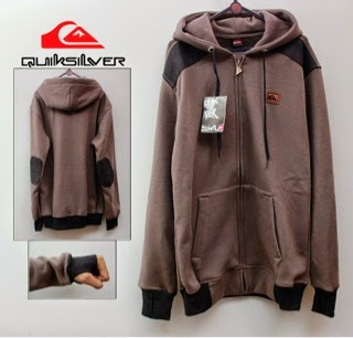 Jaket Quicksilver 06 Brown Elbow Black Finger Style