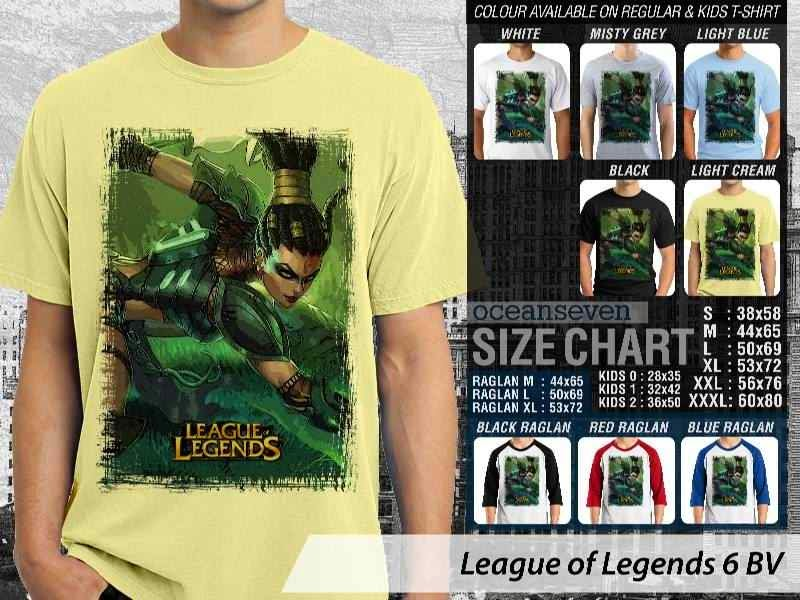 Kaos Game Online League of Legends 6 distro ocean seven