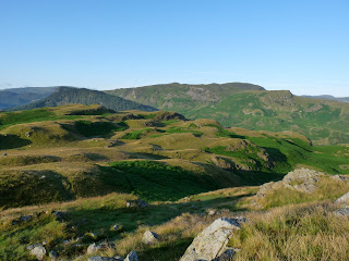 High Seat from across High Rigg.