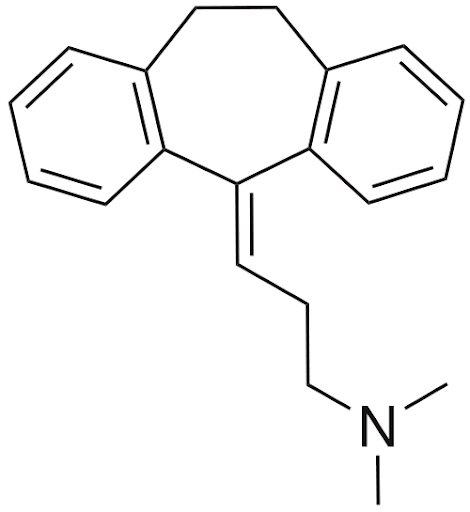 Structure Of  Amitriptyline Hydrochloride