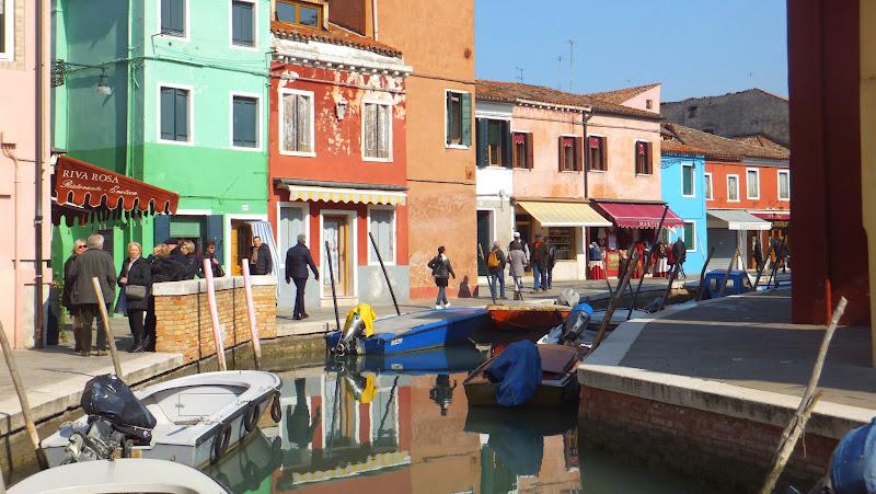 Weekend en Burano, Veneto, Italia