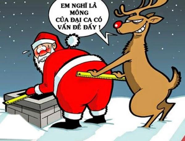 Thơ chế vui đêm Noel, giáng sinh hài hước, vui nhộn nhất