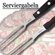 Fleischgabel Serviergabel Bratengabel Grillgabel von Marsvogel Solingen.  Serviergabel aus Solingen.