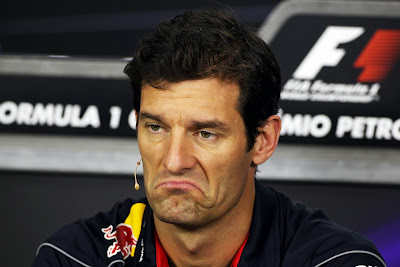 Марк Уэббер not bad на пресс-конференции в четверг на Гран-при Бразилии 2013
