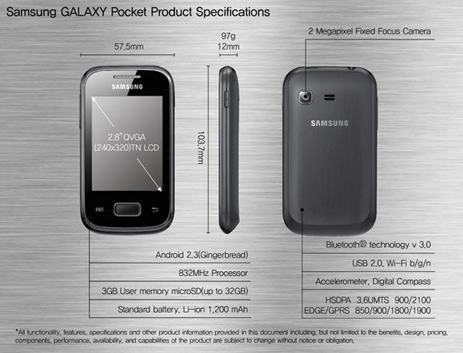 Pocket. и. Plus с модельным номером GT-S5301 (кодовое имя - Cori Plus). .
