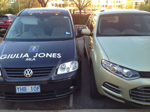 giulia parking