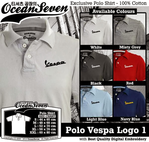 POLO Vespa 2 Logo distro ocean seven