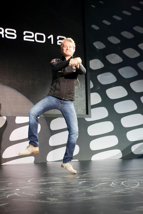 Нико Росберг Gangnamstyle перед Гран-при Кореи 2012