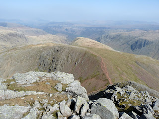 Green Gable from Great Gable (just before we descended steeply to Windy Gap.