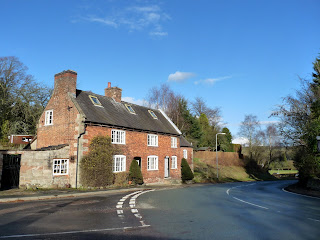 A house on the main road in Ellastone.