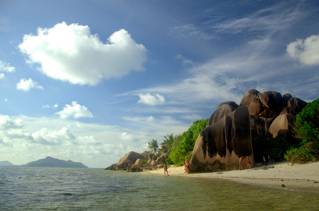 Anse Source d'Argent, La Digue.