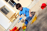 Our toddlers enjoy playing with sandtoys in the new, large, clean sandbox we built for them.