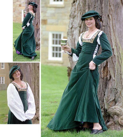 Amazoncom medieval clothing patterns