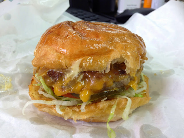 Double D Burger @ Central, Hong Kong