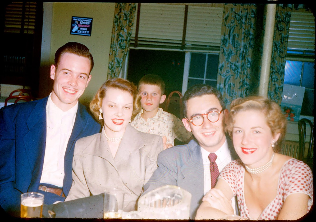 Going Away Party, 1950