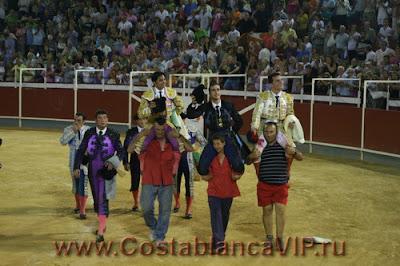 plaza del toros, corrida, Valladolid, RTVE, коррида, бой быков, прямая трансляция, испанское телевидение, CostablancaVIP