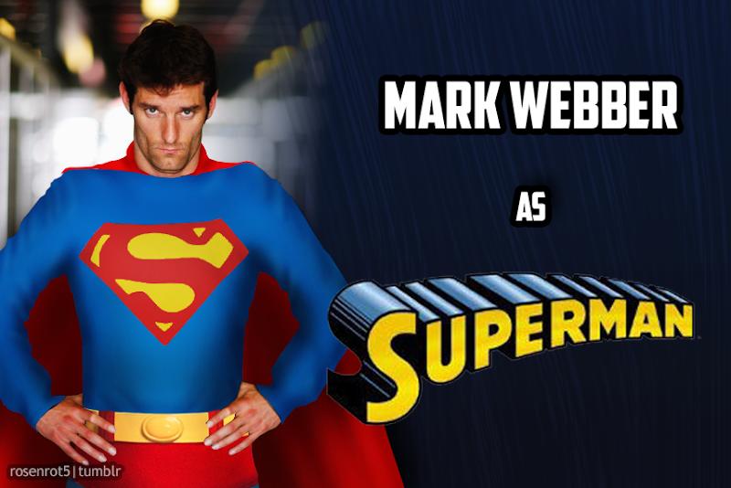 Марк Уэббер Супермэн Superman by rosenrot5