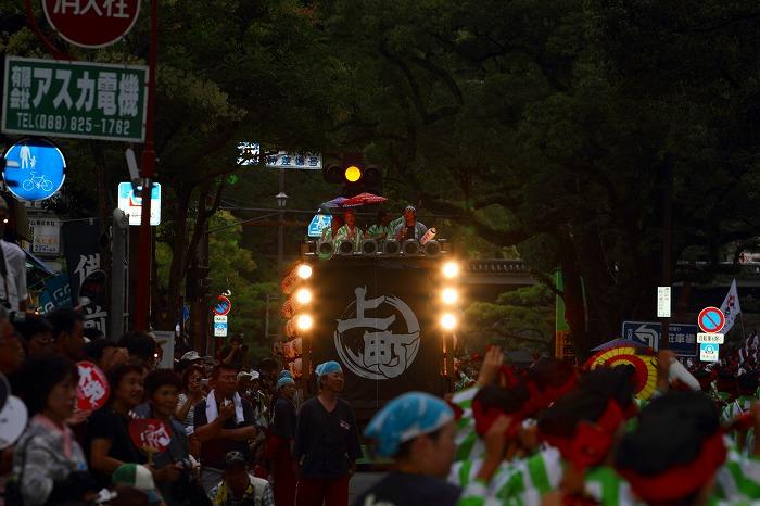 第59回よさこい祭り☆本祭2日目・追手筋本部競演場48☆上2目0766