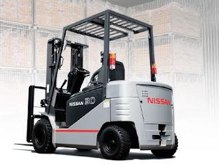 Xe nang dien Nissan Forklift