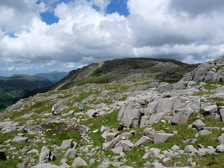 Looking back to Glaramara