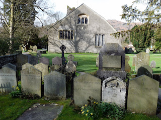 The Wordworth's Graves at Grasmere Church