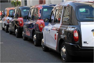 такси от Sky Sports F1 в Лондоне