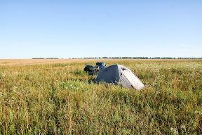 Spavamo pokraj polja dimenzija 3km x 7km