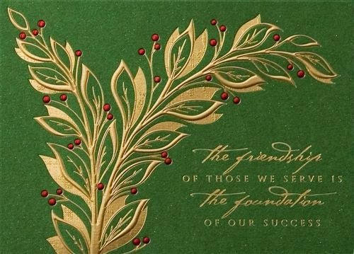 Custom Christmas Cards For Business