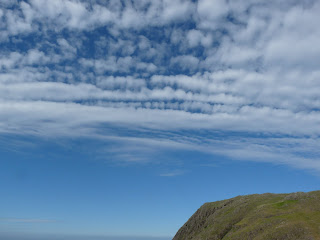 Ploughed sky over Buckbarrow