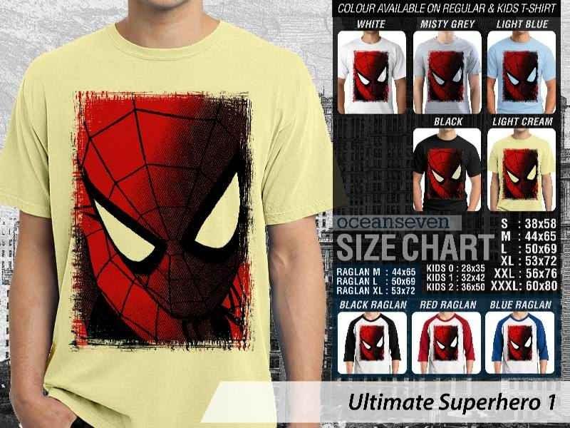 KAOS spiderman 1 Ultimate Superhero distro ocean seven