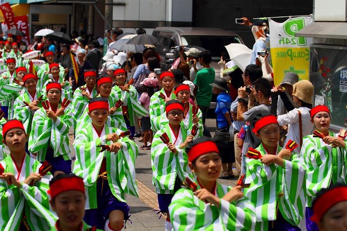第59回よさこい祭り☆本祭1日目・上町競演場119☆上1目967