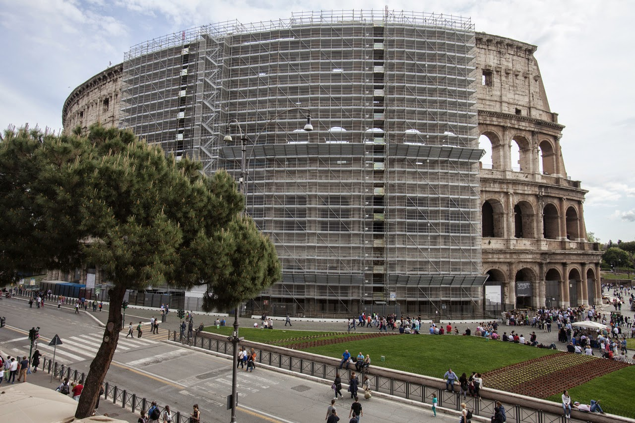 Rome's Colosseum gets a much needed facelift