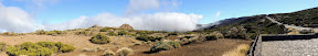 Fog Rolling In - Mt Teide