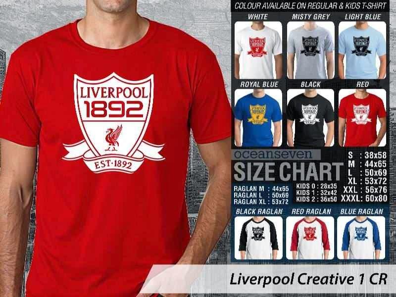 KAOS Liverpool 12 Liga Premier Inggris distro ocean seven