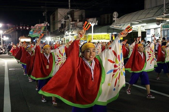 第60回よさこい祭り☆本祭2日目・升形地域競演場36☆上2目2628