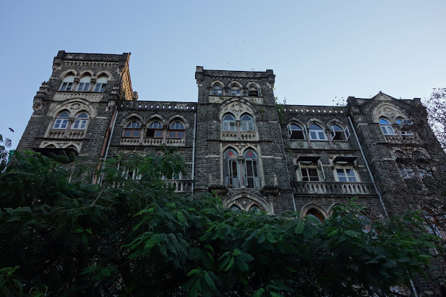 Mumbai's old buildings are fighting the elements.